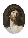 Head of Christ Crowned with Thorns, 1622-1623 Giclee-trykk av Guido Reni