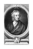 John Locke, English Philosopher, C1713 Giclée-Druck von George Vertue