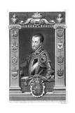 Philip II, King of Spain, 16th Century, (173) Giclée-Druck von George Vertue