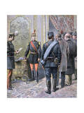 Coup D'Etat in Serbia, 1893 Giclee Print by Henri Meyer