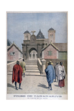 The Queen's Palace, Tananarive, Madagascar, 1897 Giclee Print by Henri Meyer