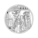 Hedda of Winchester Consecrates St Guthlac, Late 12th Century Giclee Print by Henry Shaw