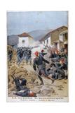 Battle of Meluna, Greco-Turkish War, 1897 Impressão giclée por Henri Meyer