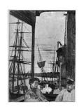 Rotherhithe, 1860 Reproduction procédé giclée par James Abbott McNeill Whistler