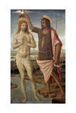 The Baptism of Christ, after 1486 Giclée-tryk af Guidoccio Cozzarelli