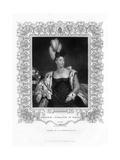 Princess Charlotte Augusta of Wales, 19th Century Giclee Print by Henry Thomas Ryall