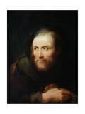 Portrait of a Man, 18th Century Giclée-tryk af Giuseppe Nogari