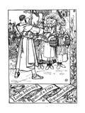 Illustration from the Book the Merry Adventures of Robin Hood, 1883 Gicléedruk van Howard Pyle