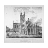 South-East View of the Lady Chapel of St Saviour's Church, as it Will Appear When Restored, C1835 Giclee Print by J Harris