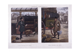 The Guard of 1852 and the Guard of 1832, 1852 Giclee Print by J Harris