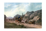 Under Weigh Without a Pilot, 1836 Giclee Print by J Harris