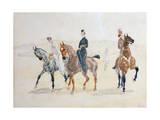 Riders, 1880S Giclée-vedos tekijänä Henri de Toulouse-Lautrec