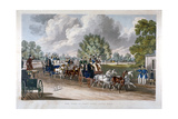 The Four-In-Hand Club, Hyde Park, London, 1838 Giclee Print by J Harris