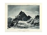 The Matterhorn from the Col D'Herens, Switzerland, C1900 Giclée-Druck von J Brunner