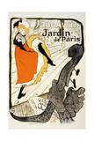 Jane Avril at the Jardin De Paris, 1893 Stampa giclée di Henri de Toulouse-Lautrec