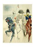 The History of Napoleon I' (Rejected Design of a Poster to the Boo), 1895 Lámina giclée por Henri de Toulouse-Lautrec