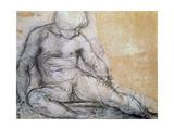 Seated Boy, C1514-1557 Giclée-tryk af Jacopo Pontormo