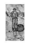 Le Chemineau, C1870-1920 Giclee Print by Jean Francois Raffaelli