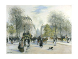 Paris, 1900 Giclee Print by Jean Francois Raffaelli