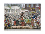 Middlesex-Election, 1804. a Long Pull, a Strong Pull and a Pull All Together, 1804 Giclee Print by James Gillray