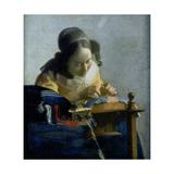 The Lace Maker, C1664 Lámina giclée por Johannes Vermeer