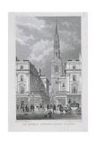 St Brides Avenue, London, 1829 Giclee Print by James Tingle