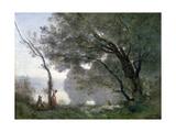 Souvenir of Montefontaine, 1864 Reproduction procédé giclée par Jean-Baptiste-Camille Corot