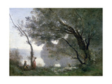 Souvenir of Montefontaine, 1864 Giclee Print by Jean-Baptiste-Camille Corot