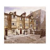 Paul's Alley, Australia Avenue, London, 1887 Impressão giclée por John Crowther