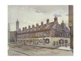 View of Old Pye Street, Westminster, London, 1883 Impressão giclée por John Crowther