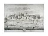 Tower of London, C1700 Giclee Print by Johannes Kip