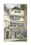 Leadenhall Street, City of London, 1811 Giclée-tryk af John Nixon