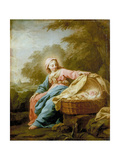 Rest on the Flight into Egypt, 1756 Giclee Print by Jean Bernard Restout