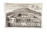 Bird's-Eye View of Morden College, Greenwich, London, C1710 Giclee Print by Johannes Kip
