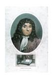 Anton Van Leeuwenhoek (1632-172), Dutch Microscopist, C1810 Giclée-tryk af John Chapman