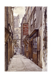 Botolph Alley, London, 1886 Impressão giclée por John Crowther
