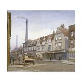 View of Mint Street, Southwark, London, 1884 Impressão giclée por John Crowther