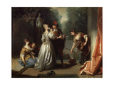 Smell' (From the Series 'The Five Senses), Late 1720S or Early 1730S Giclee Print by Jean Raoux