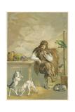 Scene from Robinson Crusoe by Daniel Defoe, 1892 Giclee Print by John Dawson Watson