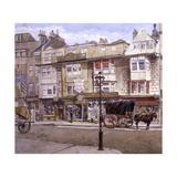 Bishopsgate, London, 1886 Impressão giclée por John Crowther