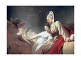 Education of the Virgin, C1773 Reproduction procédé giclée par Jean-Honore Fragonard