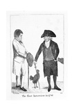 The First Interview in 1786' Between Deacon Brodie and George Smith, 1788 Giclee Print by John Kay