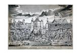 A Sudden Surprize to the City Militia, 1774 Giclée-tryk af John Nixon