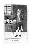 William Brodie, Scottish Cabinetmaker and Criminal, 1788 Giclee Print by John Kay