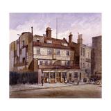 Old George Inn, Trinity Square, London, 1883 Impressão giclée por John Crowther
