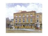 The Bricklayers' Arms Inn, Old Kent Road, Southwark, London, 1880 Impressão giclée por John Crowther