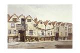 View of Shops and Houses, Bermondsey Street, Bermondsey, London, 1886 Impressão giclée por John Crowther