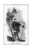 Dropping the Pilot, 1890 Giclee-trykk av John Tenniel