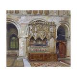 Rahere's Tomb, St Bartholomew's Priory, City of London, 1880 Impressão giclée por John Crowther