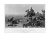 On the Beverly Coast, Massachusetts, 19th Century Giclee Print by John Frederick Kensett